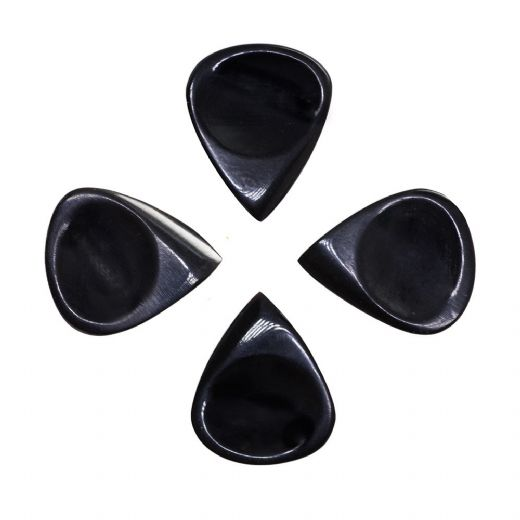 Funk Tones Black Horn 4 Guitar Picks